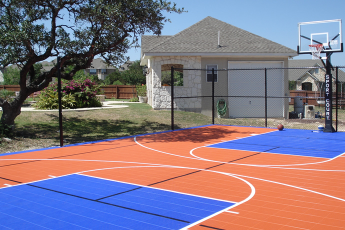 Sport Court Construction San Antonio   Outdoor Basketball ...