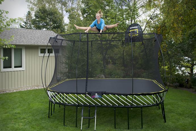 Springfree trampoline outdoor trampolines safest for Springfree trampoline