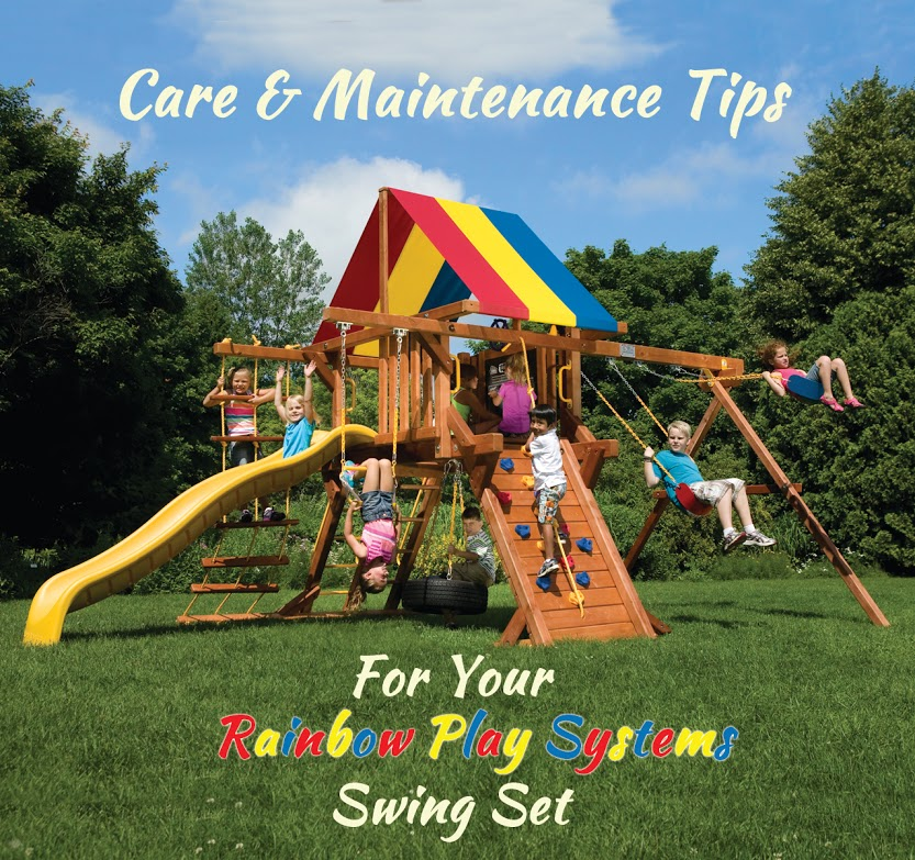 Caring For Rainbow Swing Sets